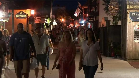 As COVID-19 cases spike, St. Augustine businesses see sales increases as visitors return