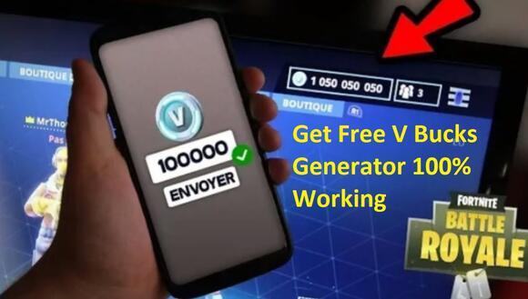 Free V Bucks Generator No Verification