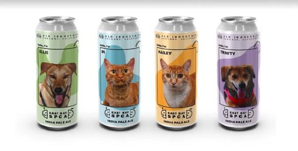 Oakland's Ale Industries Puts Adorable Adoptable Pets on Beer Cans