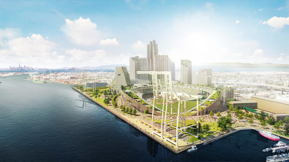 County to Oakland: Not so fast on A's waterfront ballpark tax plan
