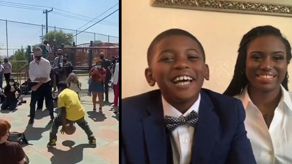 Meet the Oakland 9-year-old who went viral ballin' against Governor Gavin Newsom