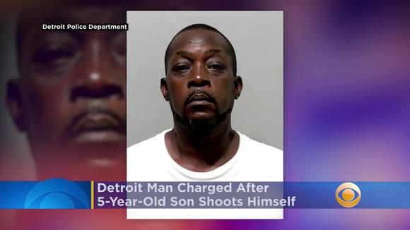 Detroit Man Charged After 5-Year-Old Son Shoots Himself