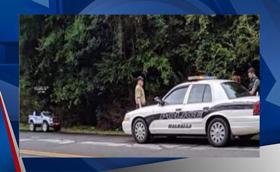 Police: 25-year-old woman arrested after she was caught driving toy truck down roadway
