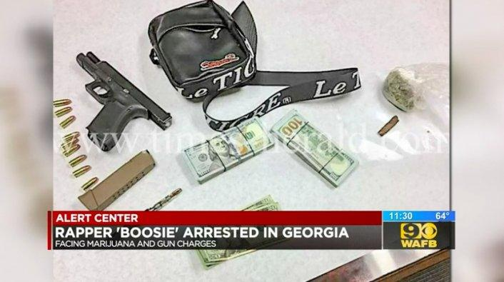 Update: Boosie & Ex-NFL Player Charged with Felony Gun and