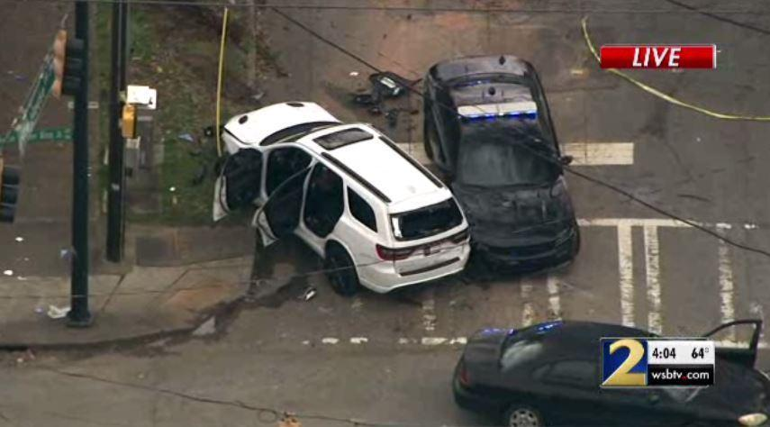 JUST IN: Police chase leads to officer-involved shooting near high