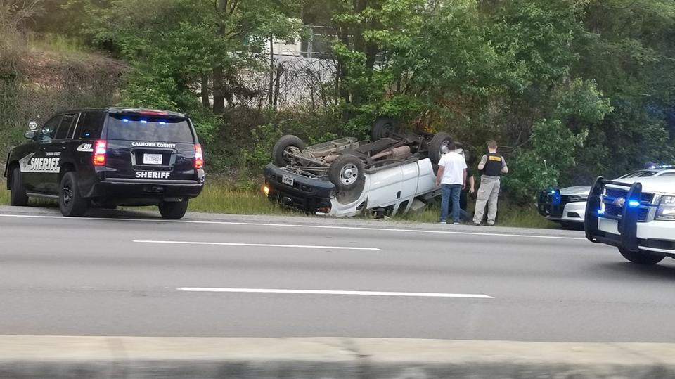 Suspect chase ends in crash on I-26 in Lexington County