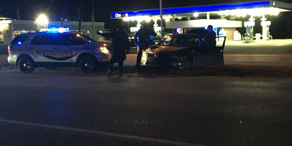 1 in custody after police chase ends in Montgomery | News Break