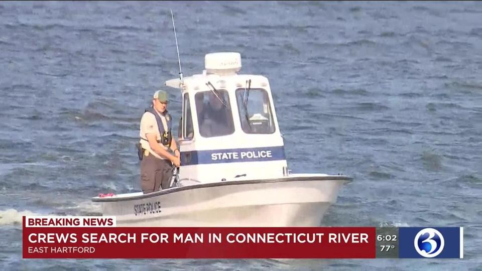 News Break   Crews to resume search for missing man in CT