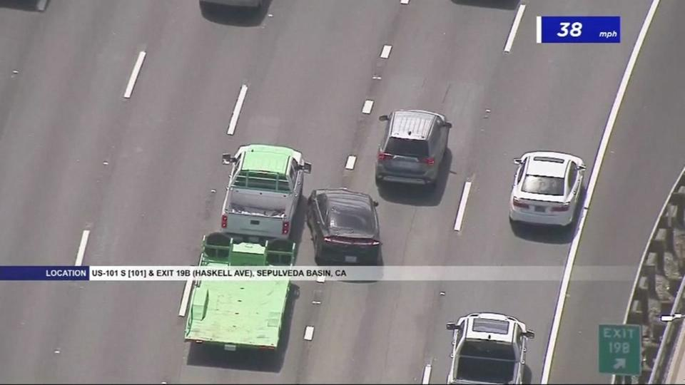 Suspects from Bay Area arrested after high-speed chase in
