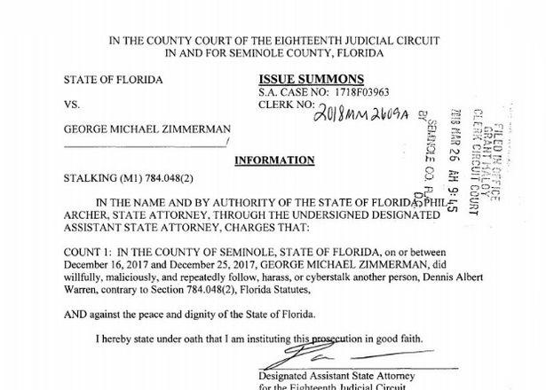 BREAKING: Trayvon Martin's killer George Zimmerman charged with
