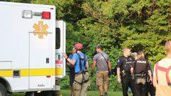 Cover for Perry man taken to Strong Memorial with knee injury after falling about 100 feet over embankment