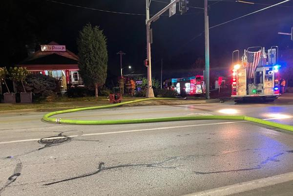 Picture for Omaha crews investigate cause of fire at Tasty Pizza restaurant