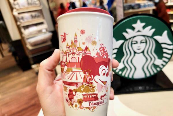 Picture for PHOTOS: New Vintage-Style Starbucks Ceramic Tumbler Arrives at Disneyland Resort