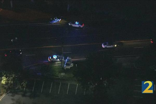 Picture for Crash involving police officer shuts down busy Gwinnett County highway