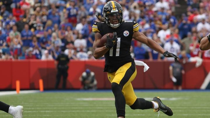 Cover for Pittsburgh Steelers wide receiver Chase Claypool fined by the NFL