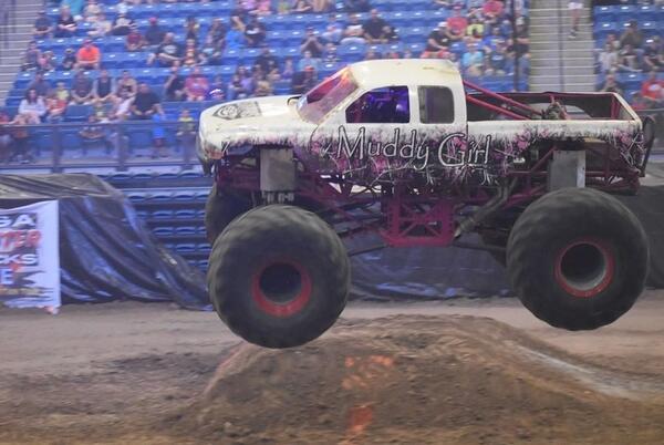 Picture for Gigantic Monster Trucks Preparing to Crash Into Cedar Rapids