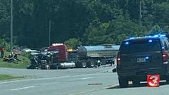 Cover for Two people serious injured in Highway 27 crash in Chickamauga on Wednesday