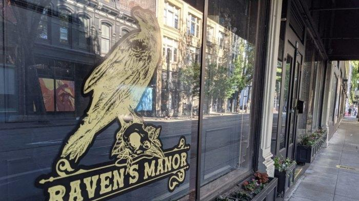 Picture for A Haunted Manor-Themed Bar With Scary Good Food, Raven's Manor In Portland, Oregon Is a Must-Visit