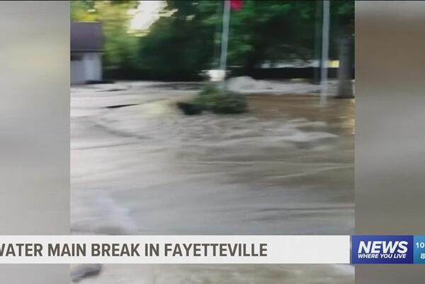Picture for Water Main Break in Fayetteville