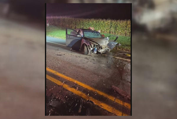 Picture for Two hurt in Cass County crash