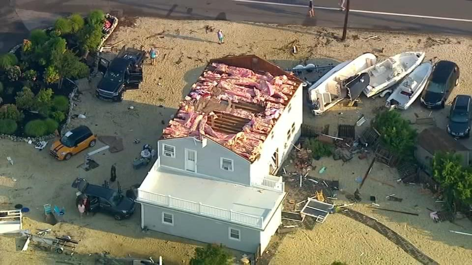 Picture for National Weather Service to survey storm damage on Long Beach Island