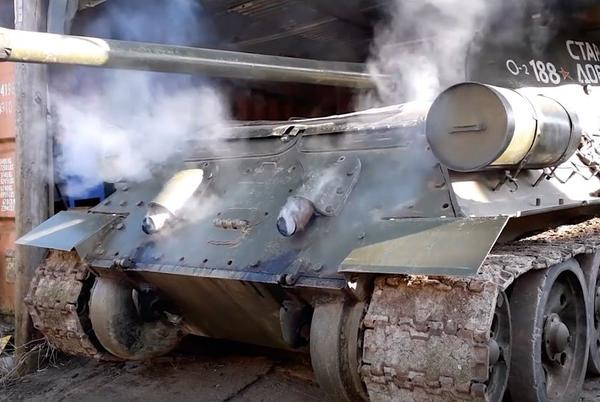 Picture for 1944 WW2 T-34-85 Tank Comes Back From The Grave