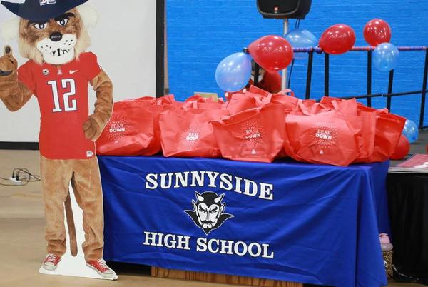Picture for Sunnyside High School ranked No. 1 in nation for admissions to University of Arizona