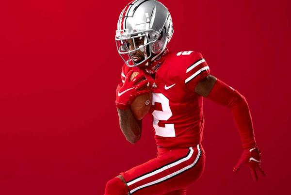 Picture for Ohio State introduces new 'color rush' uniform for Penn State game