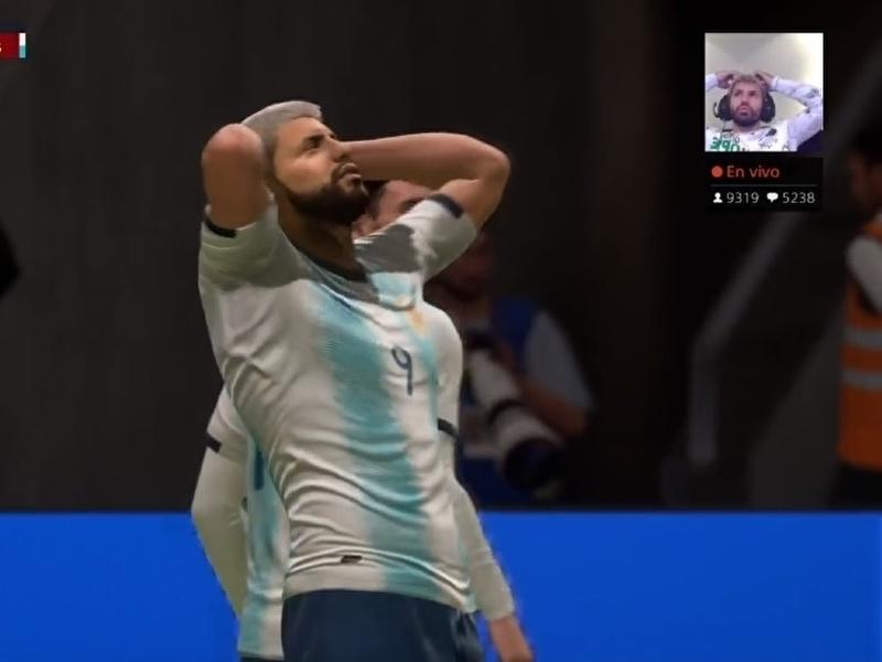 Fifa 20 Nailed Sergio Aguero S Shock At Missing A Sitter News Break