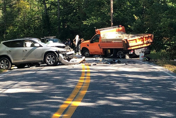 Picture for Sanford woman suffers serious injuries in Limerick head-on crash