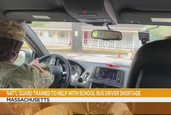 Picture for Could New York use its National Guard to drive school buses? State says no