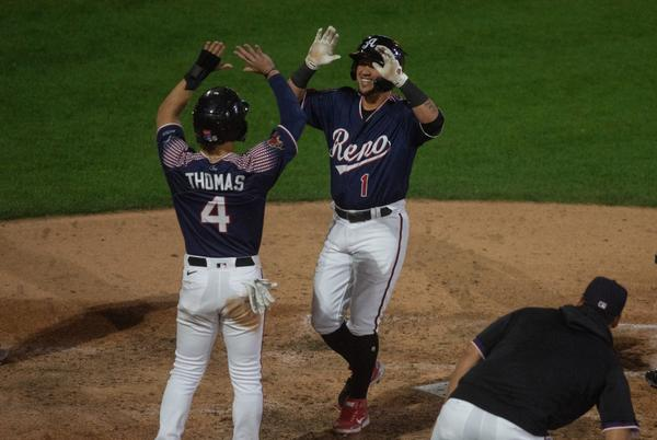 Picture for Aces tally record-breaking six triples in 19-4 win over Salt Lake