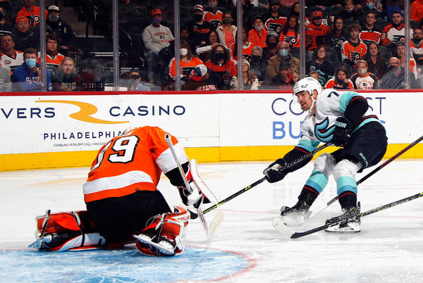 Picture for Carter Hart Becomes Youngest Flyers Goalie to win 50 Games