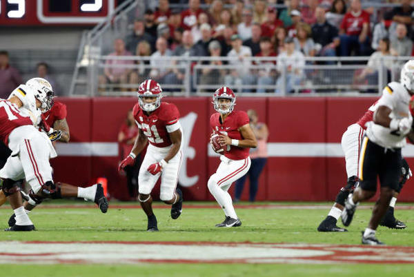 Picture for Instant Analysis: No. 1 Alabama 63, Southern Miss 14