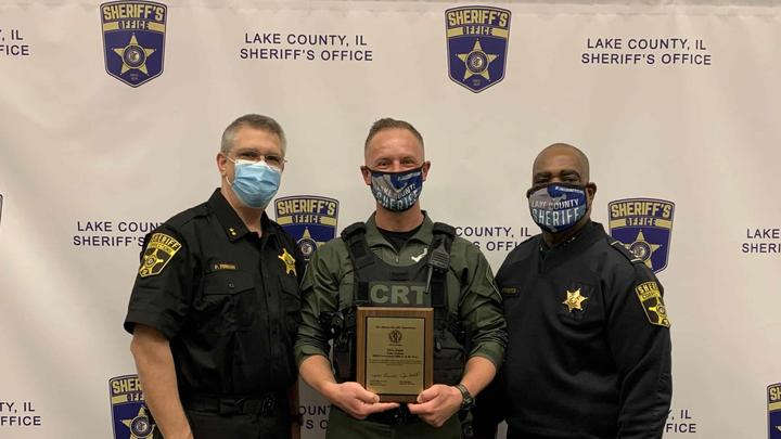 Cover for Lake County Jail corrections officer receives national 'Correctional Officer of the Year' award for saving inmates