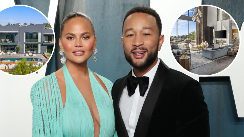 Picture for Chrissy Teigen and John Legend Sell Their Former Beverly Hills Home for $17 Million — See Photos!
