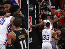 Picture for Joel Embiid fined $35K for 'escalating' John Collins skirmish