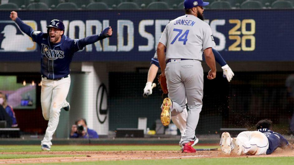 Tampa Bay Rays stun Los Angeles Dodgers in World Series ...