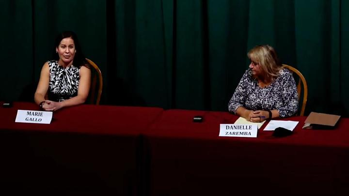 Cover for Two of four Parma Heights mayoral candidates appear at the League of Women Voters of Greater Cleveland forum