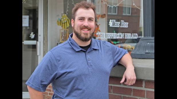 Cover for Hurley takes reins as editor of Jefferson Herald
