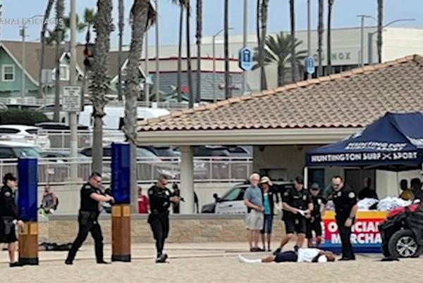Picture for Huntington Beach police shoot, kill man as US Open of Surfing underway nearby