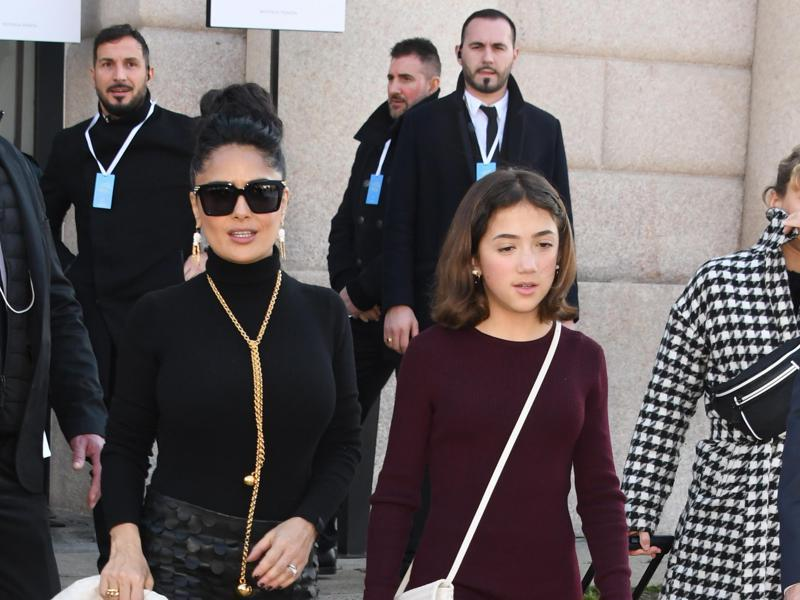 Salma Hayek S Daughter Valentina Paloma S Net Worth Revealed The Tween Is One Of World S Richest Kids News Break