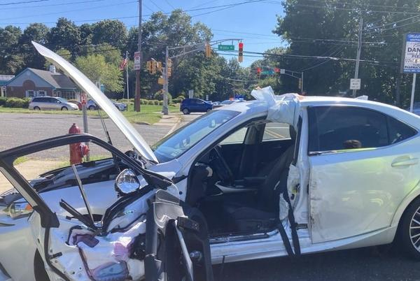 Picture for Holmdel accident leaves three with minor injuries