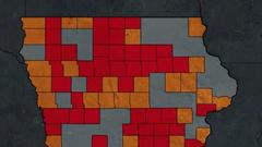 Cover for CDC: Most of Iowa is at substantial or high risk of COVID-19 transmission