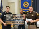 Picture for Rotary presents gift in honor of Phillip Meacham, hears from State Auditor Mike Harmon
