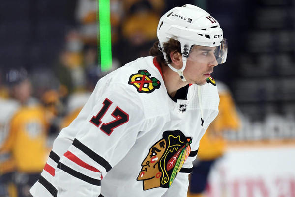 Picture for Blackhawks center Dylan Strome likely to be traded?
