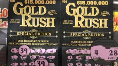 Picture for Florida Man Wins $1 Million On Billion Dollar Gold Rush Supreme Scratch-Off From Racetrac