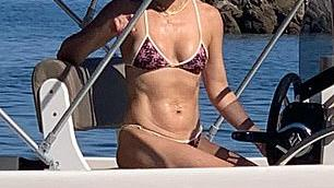 Picture for Kate Hudson and beau Danny Fujikawa are joined by her mom Goldie Hawn and Kurt Russell as they relax on family holiday in Greece