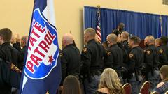 Cover for New class of officers join Wisconsin State Patrol