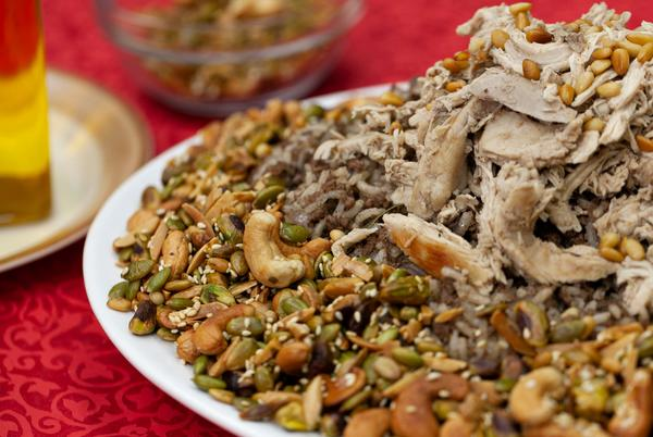 Picture for Riz a Jej (Lebanese Chicken & Rice) Recipe